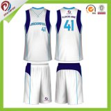 Preço barato com Quick-Dry Fabric Sublimtion Wholesale Blank Basketball Jersey