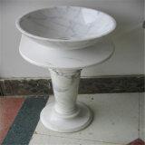 Vários balcões de lavatório de lavatório de mármore / balde de granito / bacia pedestal de granito