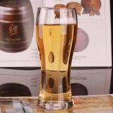 Tazza di vetro per l'acqua di tazza di vetro bevente della birra con la maniglia