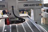 máquina de cinzeladura de madeira do router do CNC da escultura 4axis para o Ce