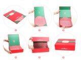 [فولدبل] صلبة ورق مقوّى ورقة خمر صندوق مع شحن مسطّحة