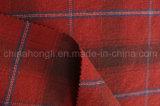 A manta poli/tela de rayon, fio tingiu a tela, 230GSM