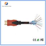 поддержка кабеля 30AWG покрынная золотом HDMI2.0 4k 5FT 3D с локальными сетями