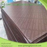 One Time Hot Press를 가진 포플라 Core 12mm Film Faced Plywood