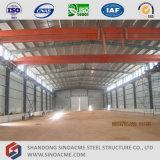 Полуфабрикат стальная структура здания для мастерской