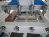 Ranurador del CNC de la carpintería del grabado de madera de redondo de la alta precisión para tallar