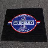 La gomma impressa ha stampato le stuoie su ordinazione del pavimento del portello di benvenuto della moquette di vendita marcante a caldo di promozione di marchio