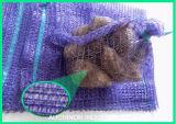 Plastik-PET Raschel Ineinander greifen-Netz-Kartoffel sackt Ineinander greifen-Beutel für Gemüse und Frucht ein