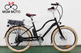 Vélo électrique de rétro de plage de croiseur grosse ville classique de pneu