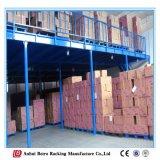 Plataforma do aço do mezanino do armazenamento de China do Shelving da montagem de cremalheira