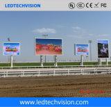 Écran d'Afficheur LED de P10mm extérieur pour le support de montant publicitaire