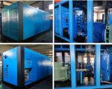 Compresor de aire rotatorio doble ajustable del tornillo de la frecuencia magnética permanente