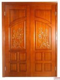 Puerta de madera con buen diseño, puerta interior, puerta del cuarto de baño,