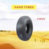 Pneu déserte / pneu désert, pneu de sable, pneu de sable pour 16.00-20, 14.00-20, 9.00-16