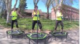 Geschiktheid van de Club van de Trampoline van de Lente van Gymnatisc de Vrije Springende