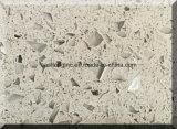 Pedra artificial de quartzo da única cor de China para bancadas