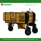 Máquina automática de la pavimentadora del encintado del encofrado deslizante