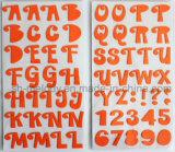 De veelkleurige Grote Stickers van het Schuim van Alfabetten voor Scrapbooking en Cardmaking