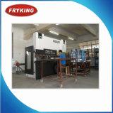 Vertoning van het Verwarmingstoestel van het Voedsel Kfc van de Apparatuur van het snelle Voedsel de Kromme Gestalte gegeven