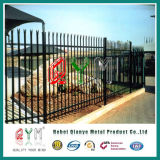 Frontières de sécurité et grilles en acier de palissade en métal avec la qualité