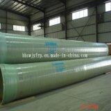 GRPのガラス繊維強化プラスチックの管