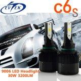12months保証H1 H7 H4 H11 H13 9006 C6sの穂軸LEDの置換のヘッドライト