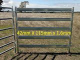 Гальванизированная сталью панель скотин для загородки фермы поголовья