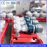 Hijstoestel van de Bouw van de Bouw van de Kooi van de Hoge snelheid van Xingdou 2000kg het Dubbele