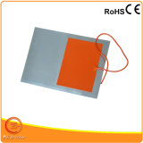 Aluminiumplatten-heißes Bett für Silikon-Gummi-Heizung des Drucker-3D