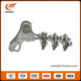 China Nld serie galvanizado maleable hierro tipo perno pinza de sujeción