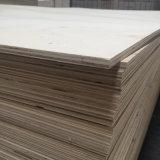 Madera de la madera contrachapada de la base del álamo para la caja de embalaje de la paleta (9X1220X2440m m)