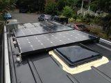 Batteria semi flessibile della batteria ricaricabile 12V del comitato solare 100W di prezzi di fabbrica con le pile solari di alta efficienza