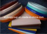 Bordure foncée de PVC de bureau et bord Lipping de meubles