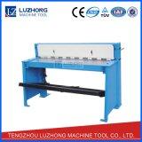 Machine de découpage de plaque métallique de tonte à commande au pied des machines Q01-1.0X1000