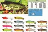 grande bouche de 35mm-45mm-55mm-65mm-85mm flottant Popper d'une première le prix bon marché usine --- La qualité a fait Crankbait de pêche en plastique dur fait sur commande - Wobbler - les cyprins P