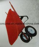 Roter Tellersegment-Hand-HochleistungslKW/Schubkarre