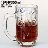 Caneca do cristal do suco do vidro bebendo de copo de café do chá do leite do Tumbler da água da caneca de cerveja