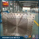 CuNi C175000の鋼鉄覆われた熱交換器Tubesheet