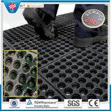 Estera de goma del orificio del dispositivo de seguridad al por mayor del drenaje/estera de goma del suelo
