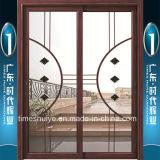 Portas deslizantes quebradas de alumínio da ponte de Foshan (2 painéis)