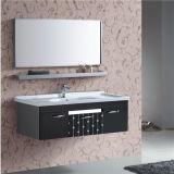 Einfacher Edelstahl-Wand-Badezimmer-Schrank mit Spiegel
