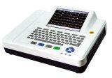 Douze la Manche ECG, ECG, machine de 12-Lead ECG, moniteur d'électrocardiographe, ECG Holter, Vcg, écran tactile, large écran de la Manche 12