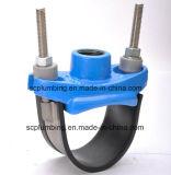 Klopfende Sattel-Schelle für Rohr