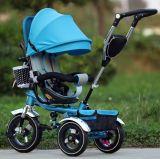 Drei Rad-Fahrrad-Spielzeug-Baby-Dreirad-/Spaziergänger-Babypram-Dreirad/Kind-Kind-Dreirad (OKM-726)