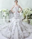 Cristais de casamento vestido de baile vestido de casamento nupcial LD11534