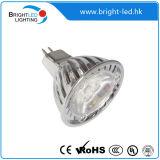 3*1W 고성능 LED 반점 빛 MR16/GU10/E27
