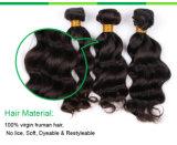 100%卸売価格の加工されていないブラジルの人間のRemyの毛の拡張