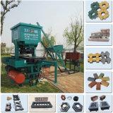 Macchina per fabbricare i mattoni dell'argilla di Eco Brava della macchina del mattone di Eco Maquinas della Camera di programmi piccola