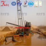 Draga di estrazione mineraria della sabbia, draga di aspirazione del getto