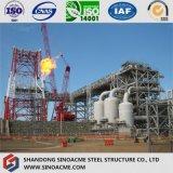 Multi Fußboden-schweres Industrieanlage-Gebäude mit Stahlkonstruktion